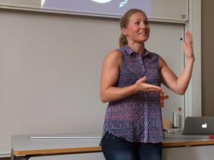 Lovisa Sandström levererar den ena sanningen efter den andra - på ett bra sätt